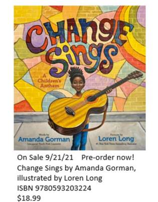 Pre-Order Change Sings by Amanda Gorman Now!