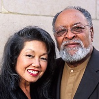 The Rev Cecil Williams and Janice Mirikitani