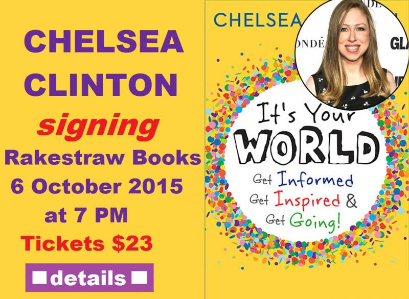 Chelsea Clinton Visits on Oct 6, 2015